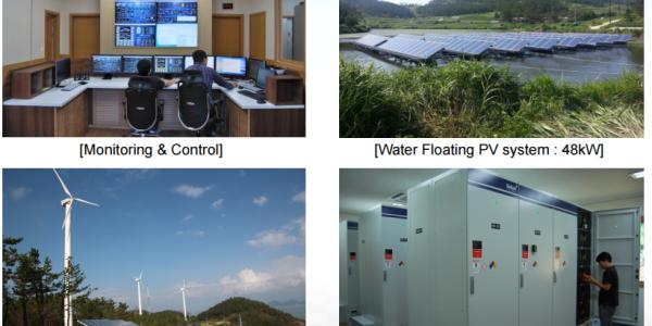 Gasado South Korea Kepco Island Microgrid