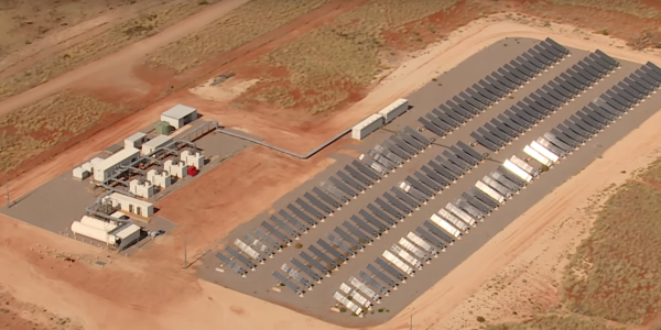 Nullagine Australia Microgrid