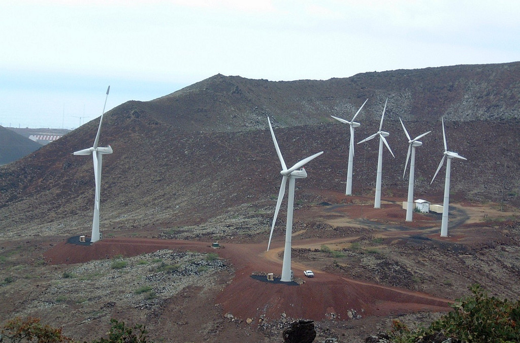 Ascension Island Wind Island Microgrid