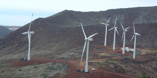 Ascension Island Wind Island Microgrid