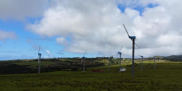 st helena wind microgrid