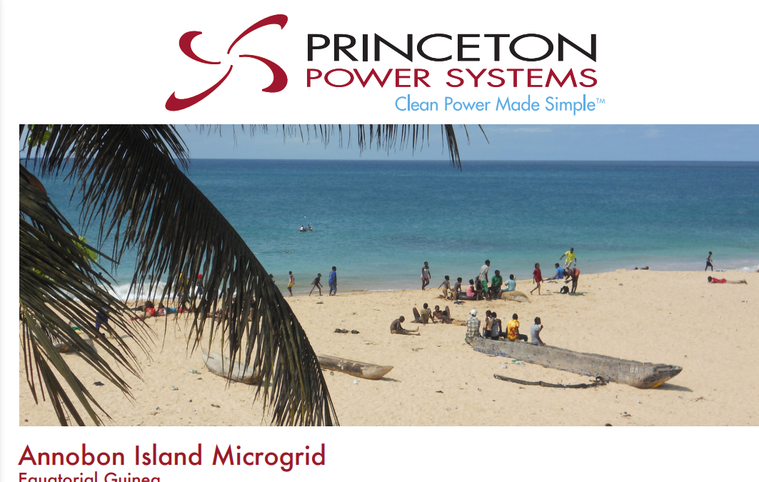 Annobon Microgrid by Princeton Power Systems