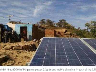 Mendare Village India Microgrid by SELCO Foundation