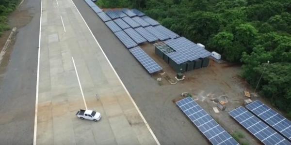 Islas Secas Panama Microgrid Project